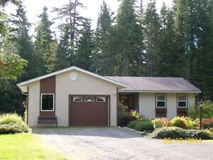 Very Nice, Very Private 3-4 Bedrm Home on10 Acres