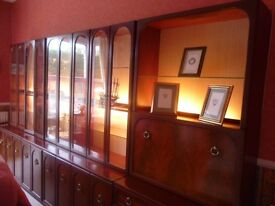 G Plan wall units (4) for disposal. Well maintained and in excellent condition.