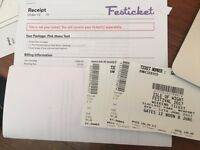 Isle of Wight Festival Tickets x2 with Camping ALL Weekend! 8th - 11th June 17