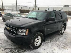 2012 CHEVROLET TAHOE LS 4X4 BLACK ON BLACK