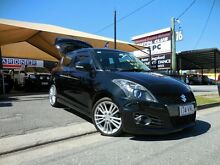2012 Suzuki Swift FZ Sport Black 6 Speed Manual Hatchback Southport Gold Coast City Preview