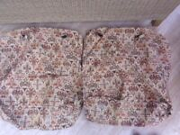 Original ercol 2 seater settee covers, for ercol purists or vintage material fans