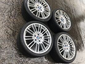CEAP 19' inch ALLOY WHEELS WITH RUNFLAT TYRES 255/30/19 for BMW M POWER