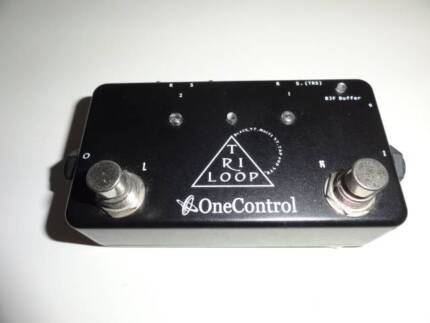 One Control Tri Loop buffered effects loop pedal Southport Gold Coast City Preview