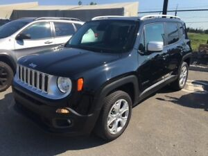 2017 Jeep Renegade LIMITED TOIT OUVRANT GPS CUIR