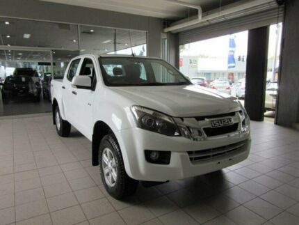 2015 Isuzu D-MAX LS-M Splash White Automatic Utility Thornleigh Hornsby Area Preview