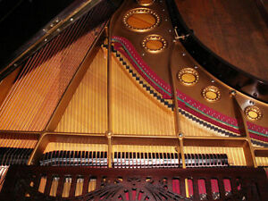 1889 C Bechstein Grand Piano Restored & Refinished West Island Greater Montréal image 1