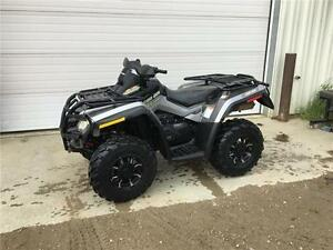 2012 Can-Am Outlander 650 XT with Power Steering!