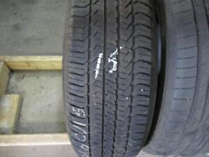 195/60R15  SINGLE ONLY USED GENERAL A/S TIRE