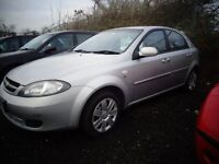 2009 09 reg chevrolet lacetti 1.4 mot to 2/2017 good we cheap carwas £995 now £695