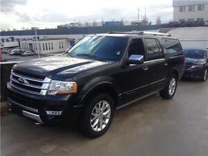 2015 Ford Expedition Max Platinum BLACK on BLACK