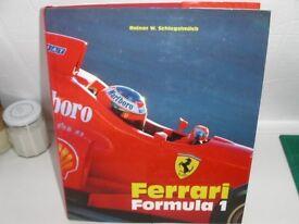 Ferrari Formula 1 large format heavy book