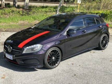 2014 Mercedes-Benz A250 176 Sport Northern Lights Violet 7 Speed Automatic Hatchback Kenwick Gosnells Area Preview