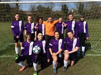 Girls wanted for football teams