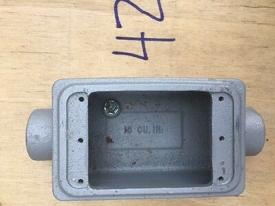 Appleton Explosion Proof Electrical Box Fsc-1-75 34 Unilet 18 Cu. In.