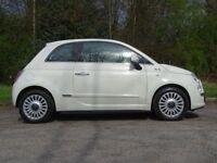 FIAT 500 1.2 LOUNGE 3d 69 BHP (white) 2010