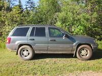 2002 Jeep Cherokee SUV, Crossover four wheel drive
