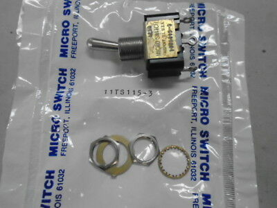 1 Ea Nos Honeywell Micro Toggle Switch W Various Applications  Pn 11ts115-3