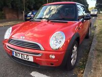 Mini One Red Hatchback 1.6L Manual 3dr 90bhp - Chili red interior