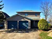 Ramsey Lake Home With Private Penisula