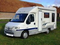 2001 2-berth Autocruise Stardream motorhome with rear lounge SOLD