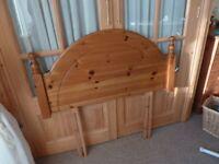 Pine Single Headboard