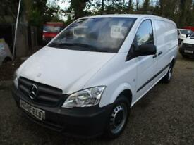 2013 Mercedes-Benz Vito 2.1CDI 113 LWB NO VAT 80,000 MILES GUARANTEED