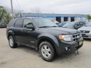 2008 FORD ESCAPE XLT 2WD, SAFETY AND WARRANTY $5,950