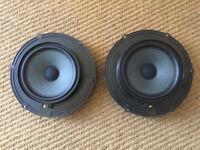 VW transporter T5 T6 Speakers PAIR front door both sides 7E0 035 453 D