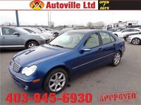 2006 Mercedes C280 4matic, leather & Heated Seats