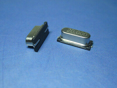 Smd Crystal Oscillator 16 Value Assorted 4mhz  48mhz Hc-49us Kit 80pcs