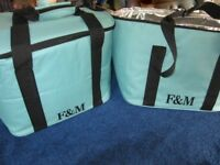 Fortnum & Mason F&M Insulated Cool Bag/ Picnic Bag