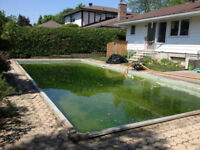 in ground pool demolition & removal