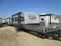 NEW FRONT DECK TOYHAULER 2015 WOLF PACK CALL MIKE