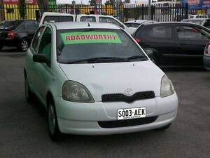1999 Toyota Echo NCP10R 5 Speed Manual Hatchback Nailsworth Prospect Area Preview