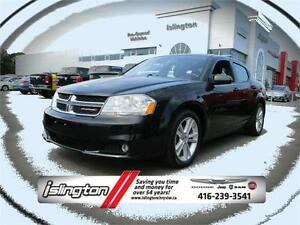 2013 Dodge Avenger SXT - FWD, 2.4L I-4 w/ HEATED SEATS, WEATHER