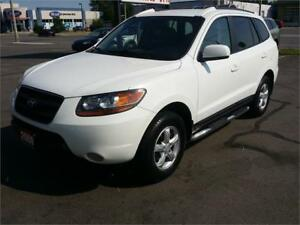 2009 Hyundai Santa Fe AWD,Excellent Condition,Low km,Pearl White