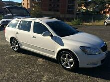 2012 Skoda Octavia 1Z MY13 90 TSI White 7 Speed Automatic Wagon North Gosford Gosford Area Preview