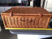 Debenhams Wicker Picnic Basket