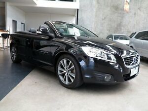 2010 Volvo C70 M Series MY10 S Black 5 Speed Sports Automatic Convertible Keilor Park Brimbank Area Preview