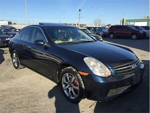 2005 Infiniti Berline G35 Luxury **FINANCEMENT MAISON**