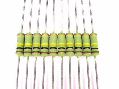 10pcs 100k Ohm 2w 5 Metal Oxide Film Resistors Wk4100kj Roederstein New