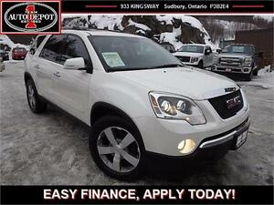 2012 GMC Acadia SLT!! AWD!! LEATHER!! 3RD ROW!!