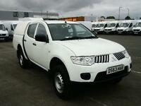 Mitsubishi L200 Double Cab Di-D 4Work 4Wd 134Bhp [2010] DIESEL MANUAL (2013)