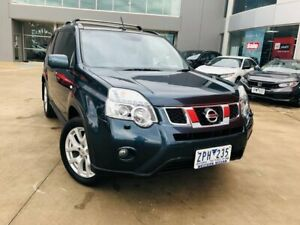 2013 Nissan X-Trail T31 Series V Adventure Edition Blue 1 Speed Constant Variable Wagon Ravenhall Melton Area Preview