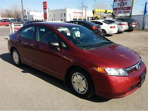 2008 Honda Civic Sdn DX-G, Manual, A/C, Group Electric, Cruise,.