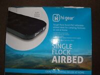 NEW FLOCK SINGLE AIRBED BOXED
