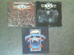 3 different VINYL LP ALBUMS-ATLANTA RHYTHM SECTION 1979