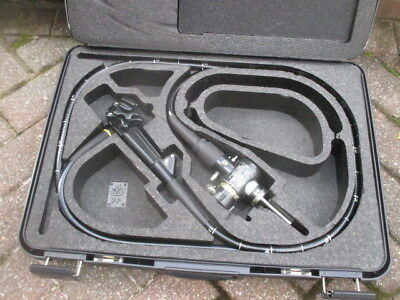 Olympus Gif Type 130 Gastroscope Evis Endoscope Md-252 In Carry Case Great