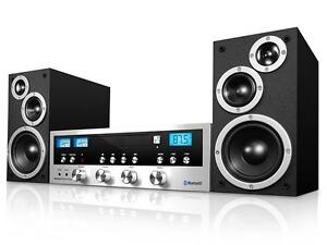 Innovative Technology ITCDS-5000 50W CD Stereo System Bluetooth